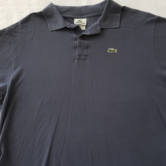 662f1ba096ba0 Men's Lacoste Dark Blue Polo Sz 6/Large